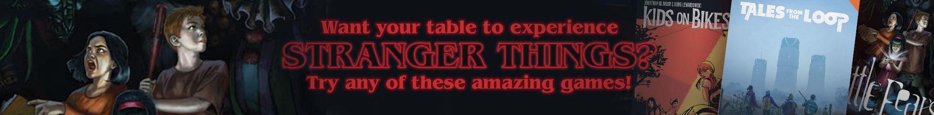 Stranger Things @ DriveThruRPG.com