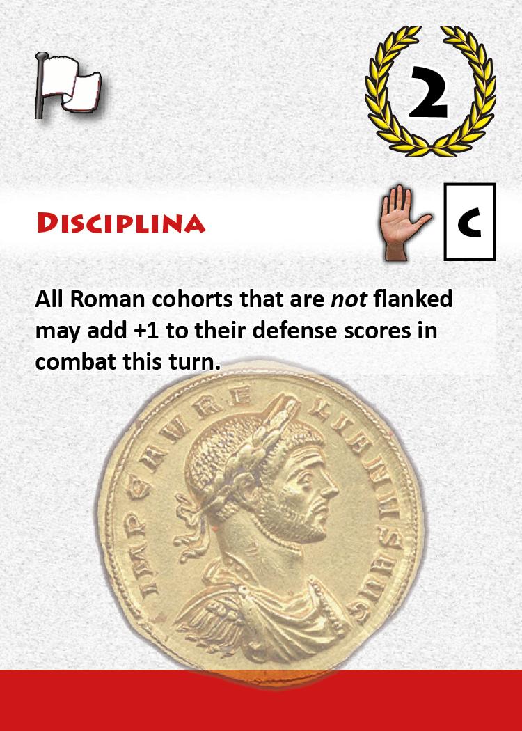 Disciplina - A Roman Card