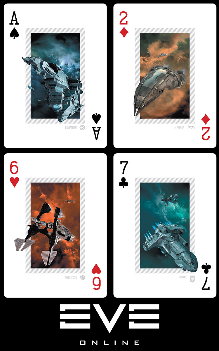 Eve Online Poker Deck Standard Suits