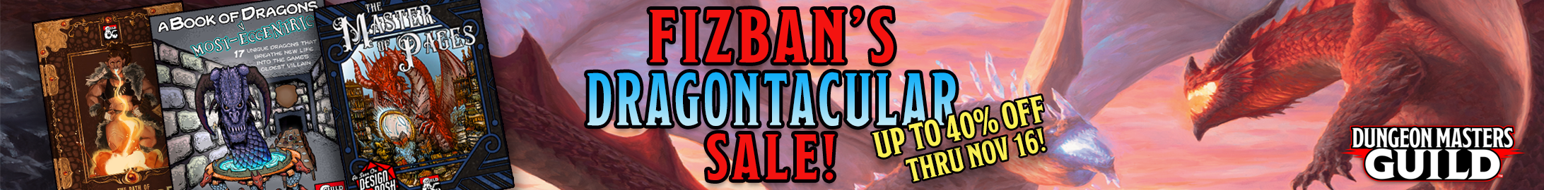 Fizban's Dragontacular Sale