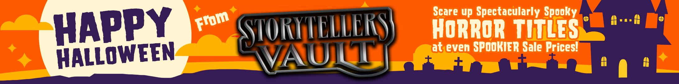 Spooky sale prices @ Storytellers Vault