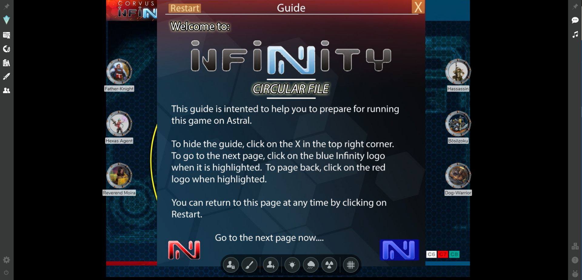 Infinity-quickstart-screencap2.JPG