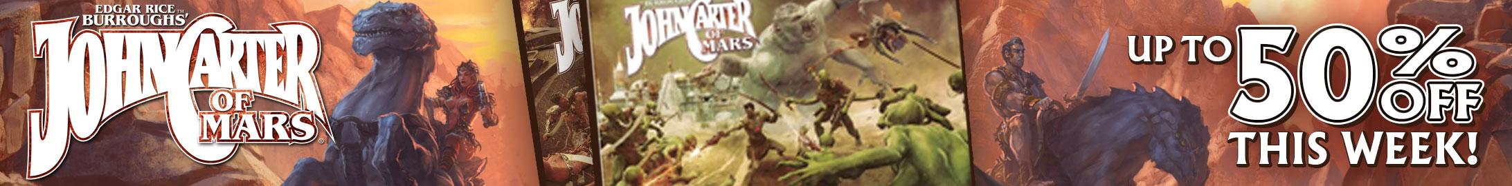 John Carter Sale @ DriveThruRPG.com