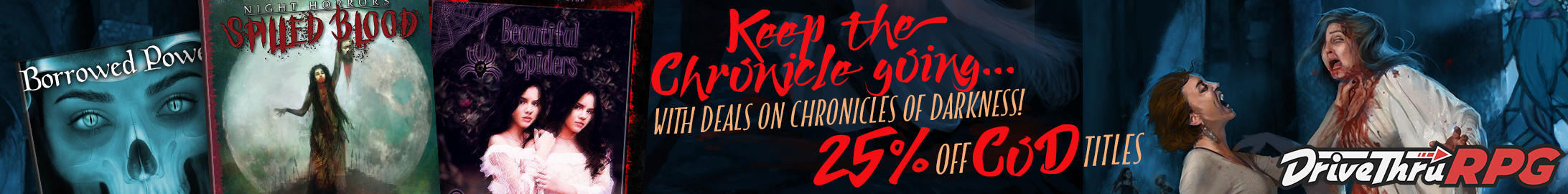 Keep the Chronicle Going sale @ DriveThruRPG.com