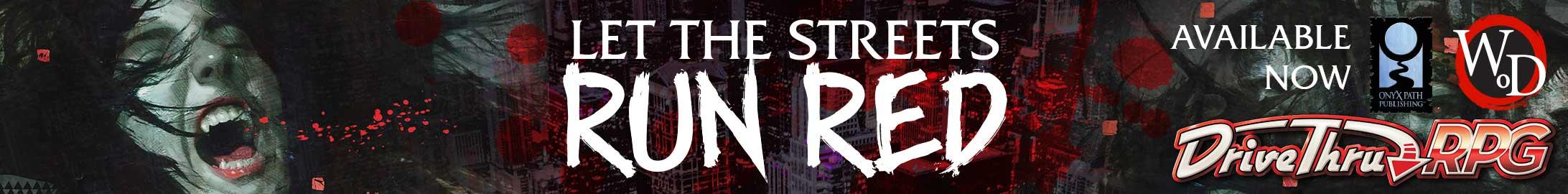 Let the Streets Run Red @ DriveThruRPG.com