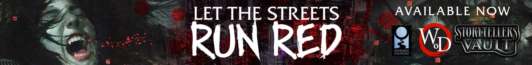 Let the Streets Run Red @ Storytellers Vault