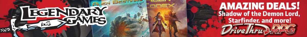 Legendary Games Mega-Sales @ RPGNow.com