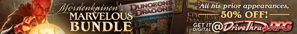 Mordenkainen's Marvelous Bundle @ DriveThruRPG.com