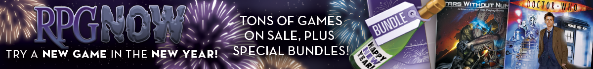 New Year, New Game sale @ RPGNow.com