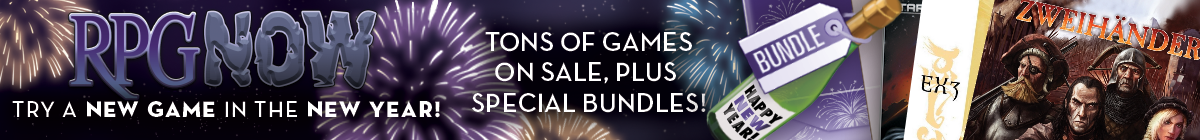 New Year, New Game sale @ Twin Rose Software RPG Downloads