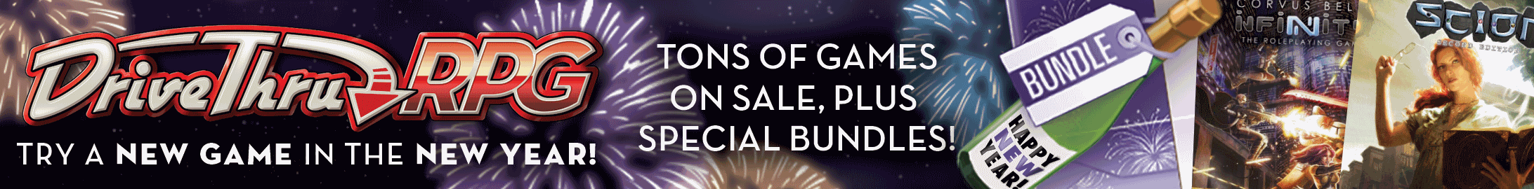 New Year, New Game Sale