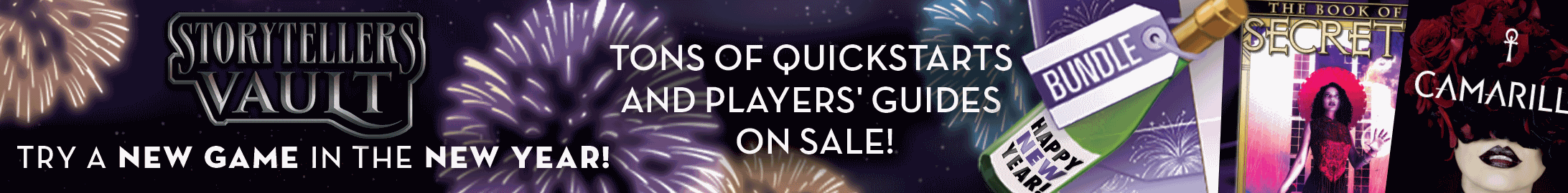 New Year, New Game sale @ Storytellers Vault