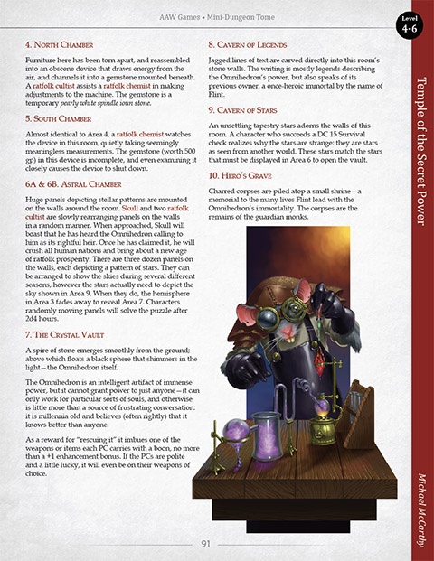 Mini-Dungeon Tome (Pathfinder RPG) - AAW Games | PF Mini-Dungeons |  Mini-Dungeons | DriveThruRPG com