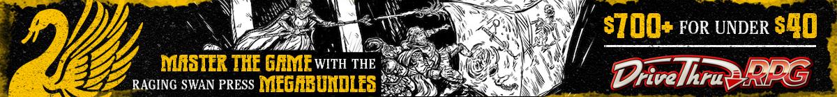 Raging Swan Press Christmas Megabundle @ DriveThruRPG.com