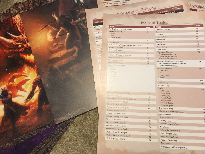 Scarred Lands DM Screen (5e) - Onyx Path Publishing