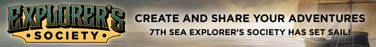 7th Sea Explorer's Society @ DriveThruRPG.com