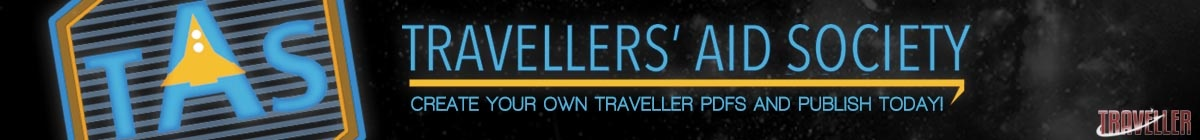 Create your own content for Traveller @ DriveThruRPG
