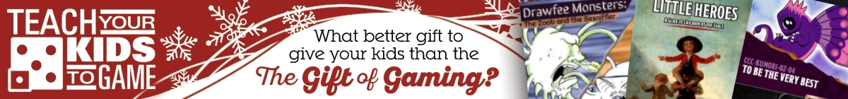 Teach your kids to game @ Dungeon Masters Guild