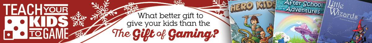 Teach your Kids to Game @ RPGNow.com