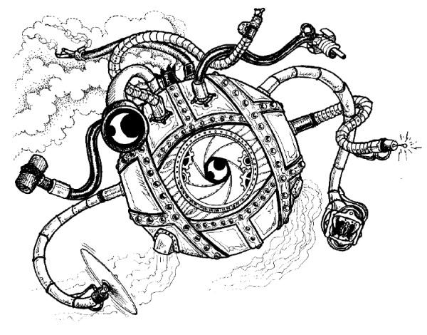 Clockwork Beholder