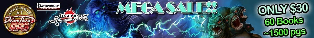 Legendary Games Mega Sale Bundle @ DriveThruRPG.com