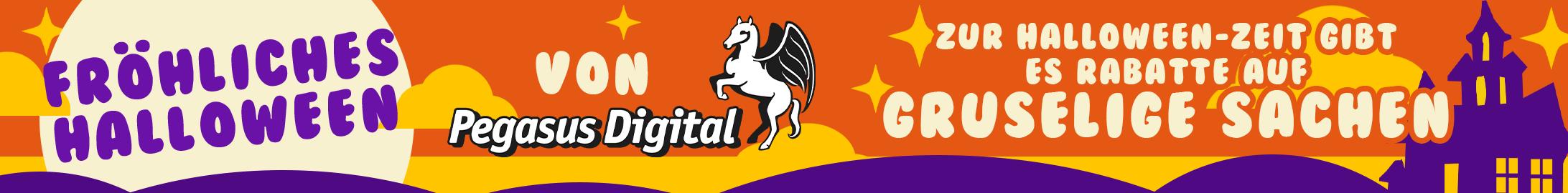 Halloween sale @ Pegasus Digital