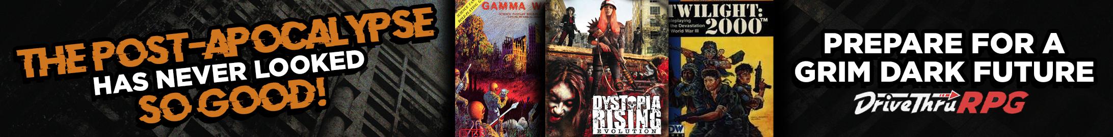 Post-Apocalypse Sale @ DriveThruRPG.com